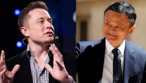 Live Video Feed: Jack Ma and Elon Musk's AI debate in Shanghai 马云、马斯克对话点亮世界人工智能大会开幕式
