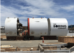 Boring Company Begins to Lay a High-Speed Tunnel Under Las Vegas