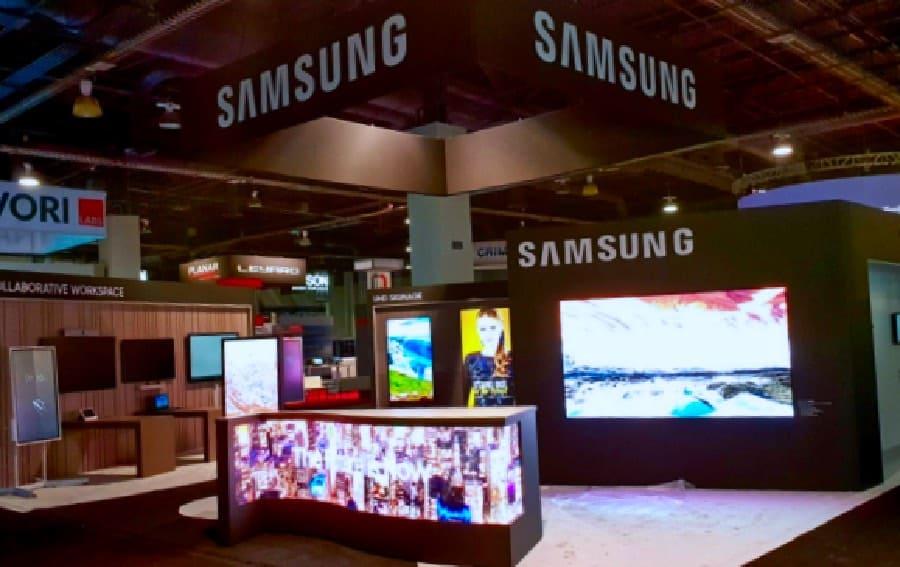 Samsung delivers innovation at Digital Signage Expo
