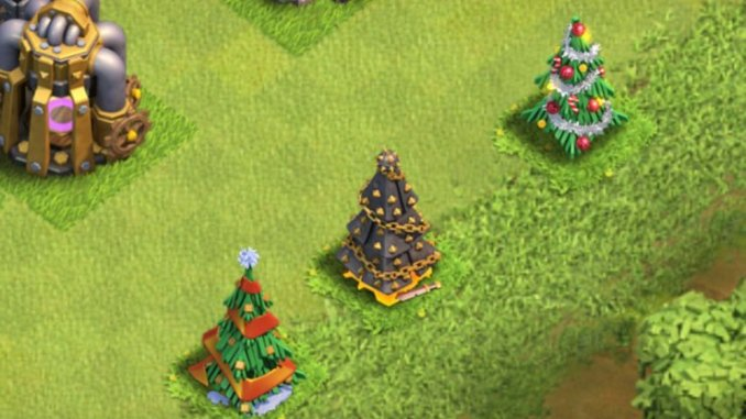 How The Clash Of Clans Christmas Tree Will Look This Year Tech
