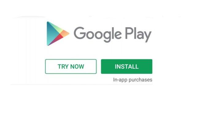 update of google play store