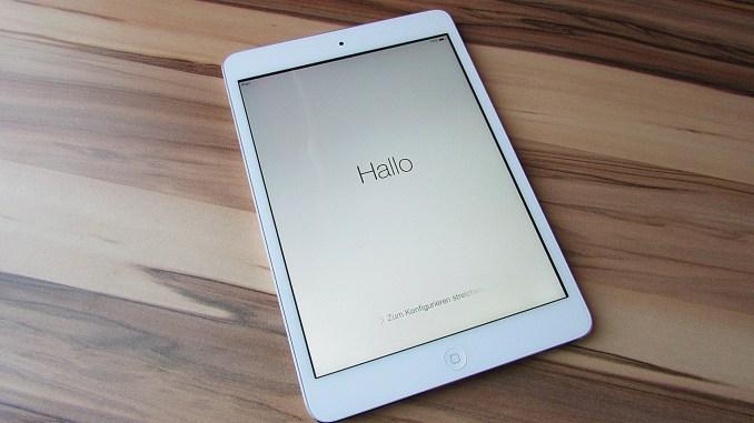iPad Frozen At Hello