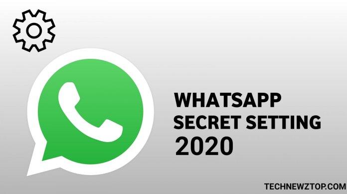 WhatsApp best Secret setting - technewztop.com