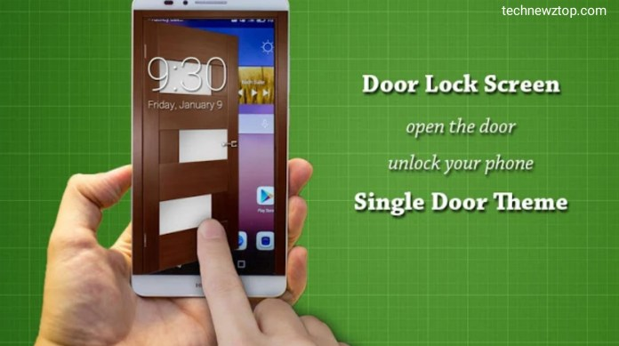 Keypad lock screen app