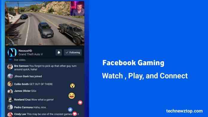 Facebook Gaming Watch Play