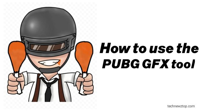 How to use the PUBG GFX tool