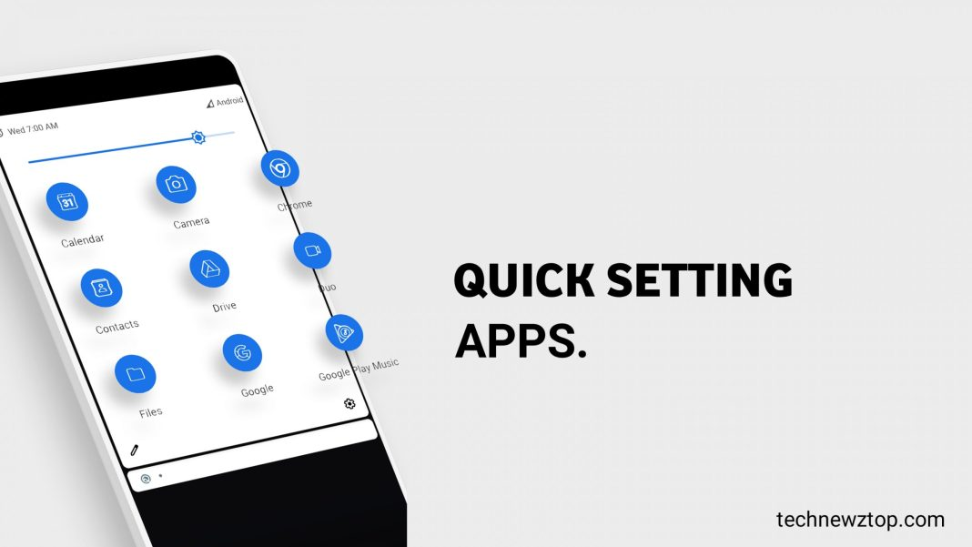 Quick Settings Apps