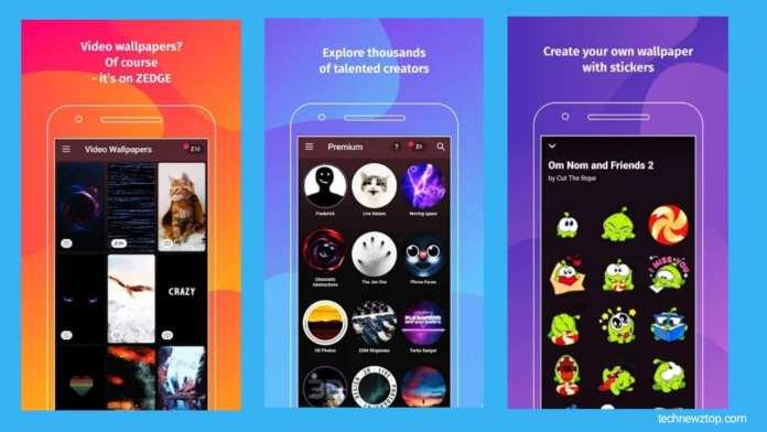 ZEDGE Wallpaper Ringtone App