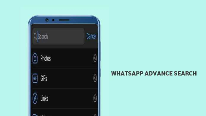 WhatsApp Advanced Search