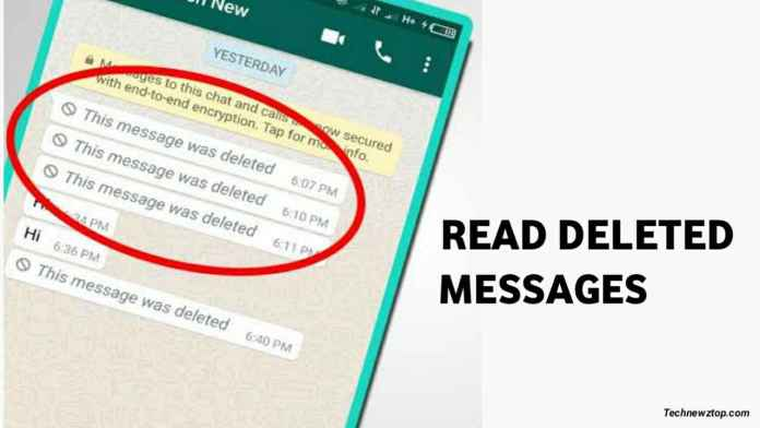 How to Read Whatsapp deleted messages