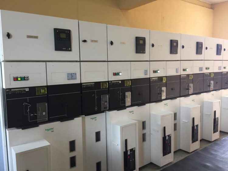 The Sura Shopping Complex IPP control a section of power units