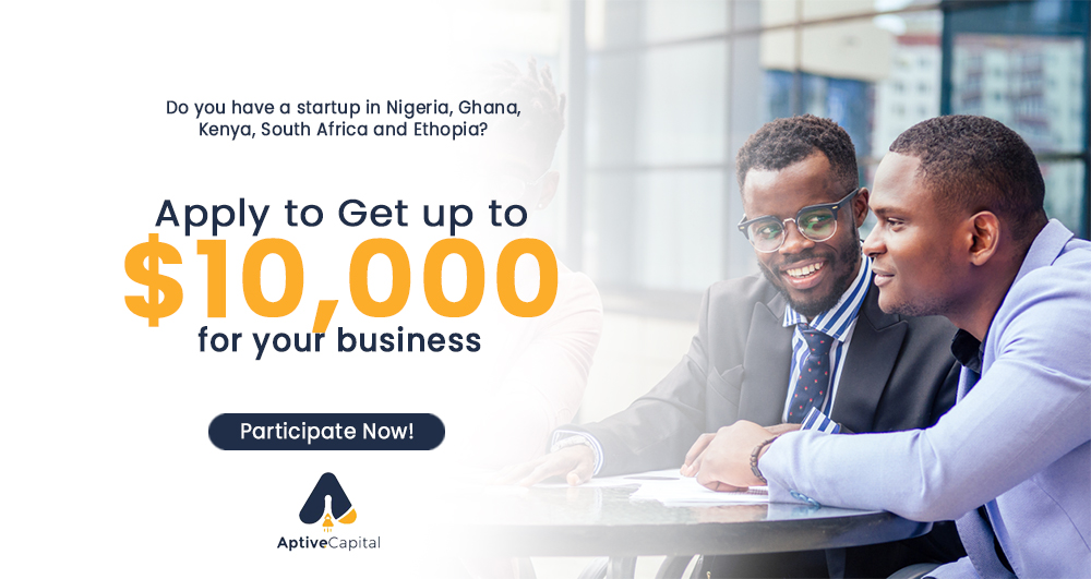 Aptive Capital, an investment organisation that provides capital, coaching, and community for social impact-driven startups and entrepreneurs,