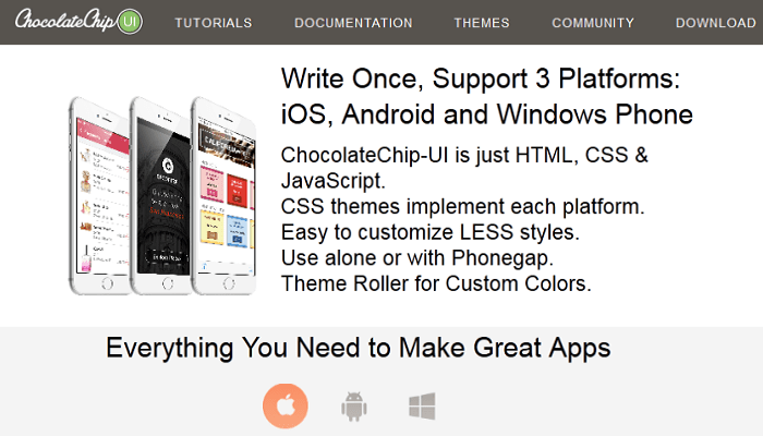 ChocolateChip-UI