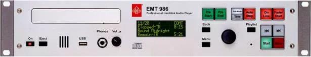 Lecteur CD broadcast EMT 986