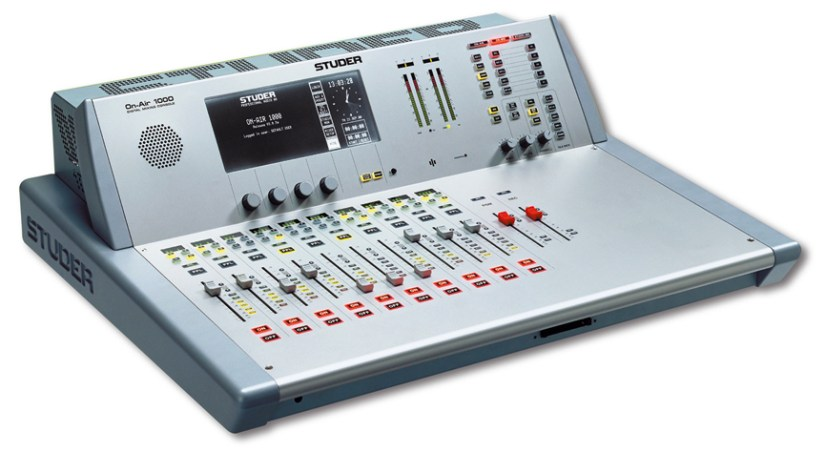 Console numerique broadcast Studer OnAir 1000