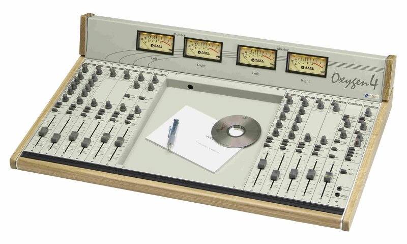 Console analogique broadcast Axel Technology Oxygen 4