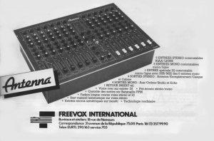 Publicité Freevox Antenna