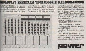 Publicité Power Broadcast