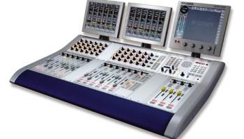 console numérique broadcast radio Studer OnAir 3000
