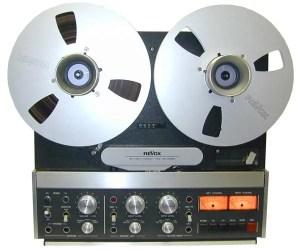 revox B77 studer magnetophone magneto à bande