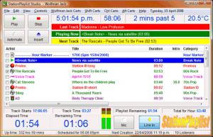 StationPlaylist Studio logiciel automation Radio