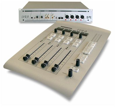 Console radio numérique D&R Lyra broadcast