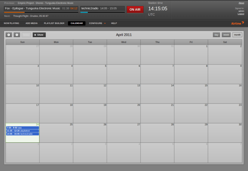 calendar-airtime
