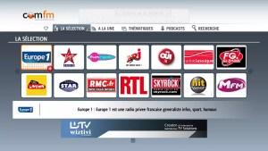 ComFM s'installe sur les LG Smart TV