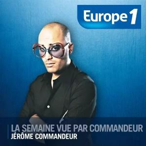 Jérôme Commandeur sur Europe 1