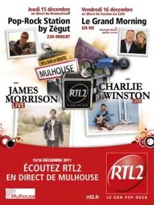RTL 2 sur la route à Mulhouse