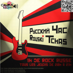 rock russe sur Radio Campus Montpellier