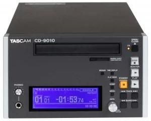 Tascam cd-9010 front
