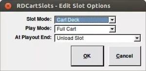 rdcartslots Edit slot options