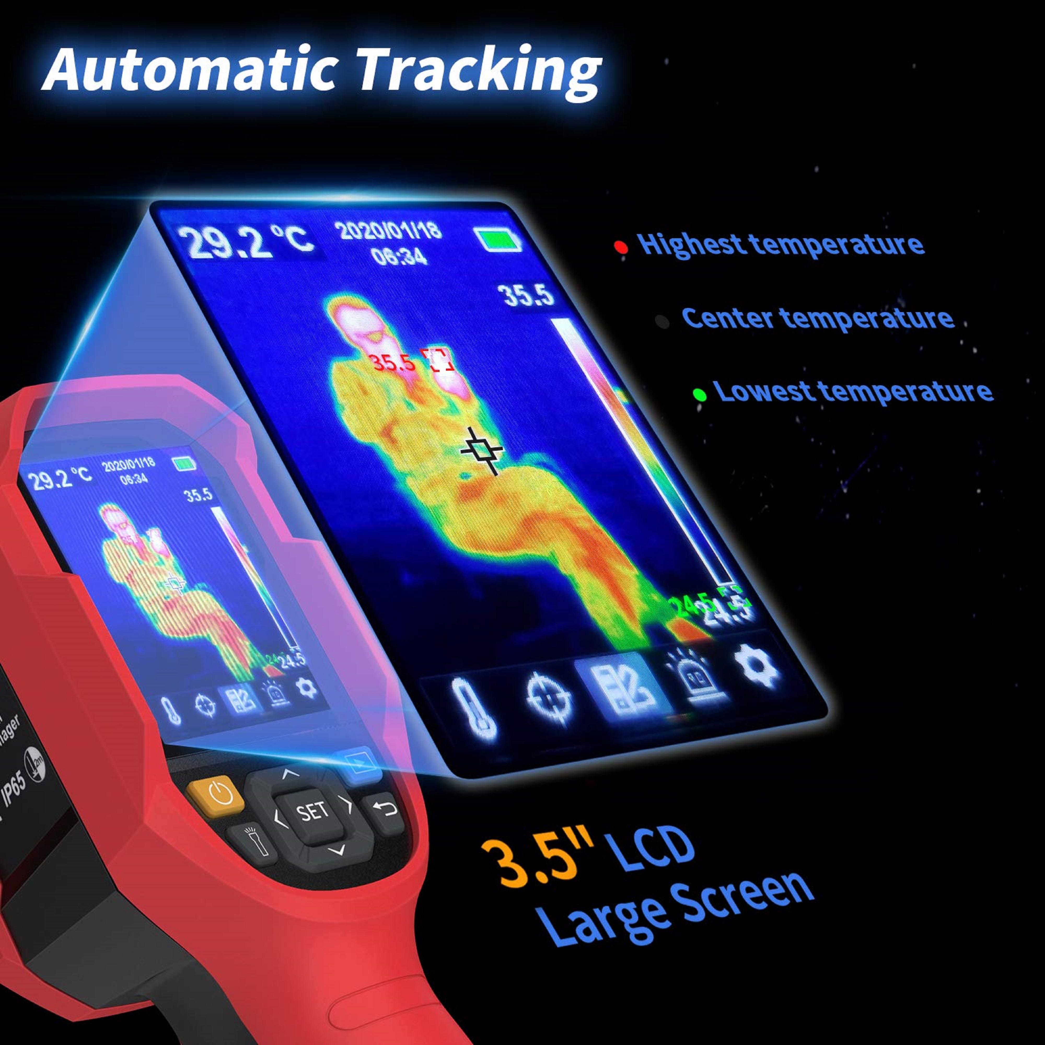 thermal meter handtype--red color