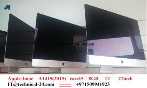 "Apple Imac A1419(2013) Core i5 8gb 1tb intel 27"""