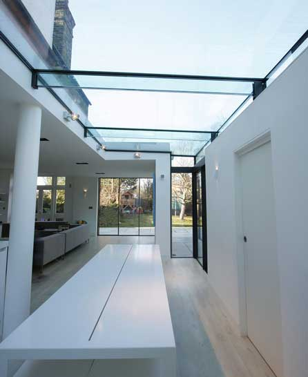 structural glass roof