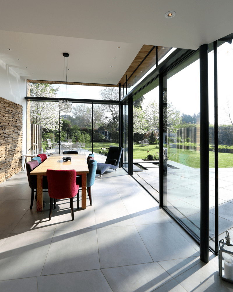 glazed extension in oxford