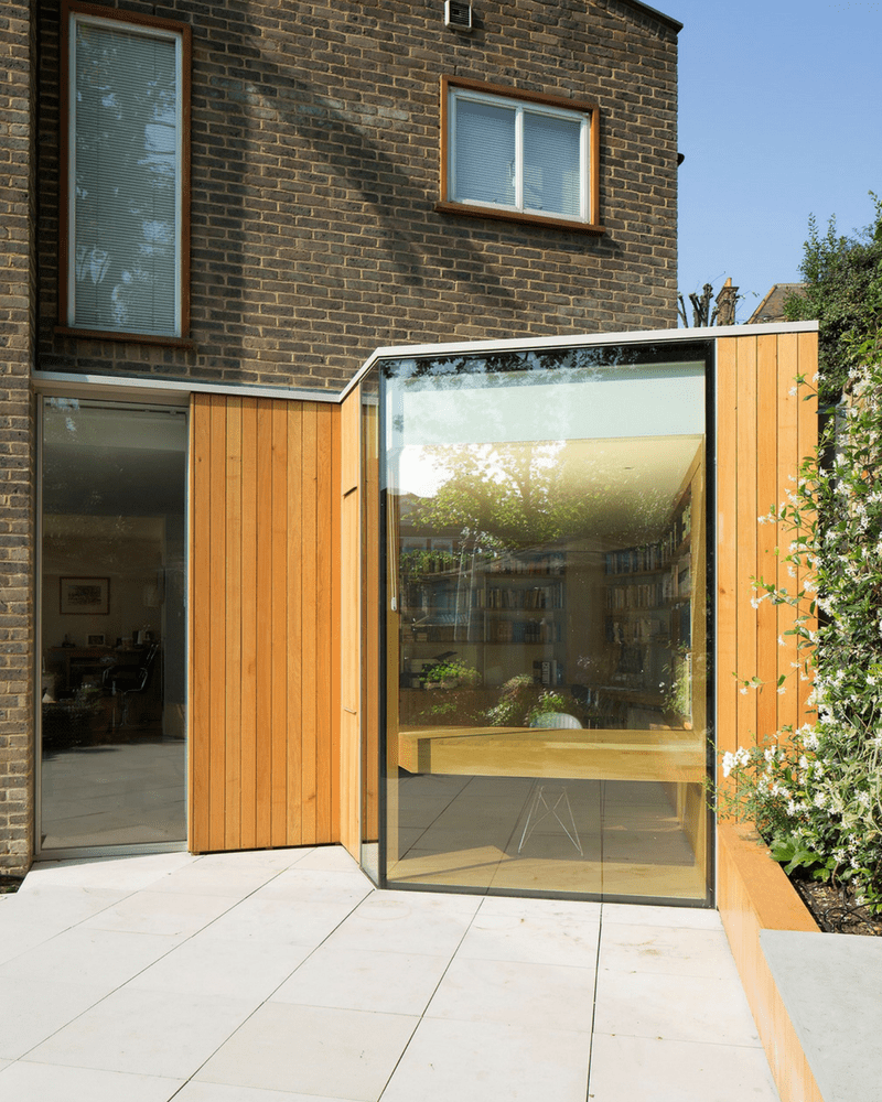 large structural glass window