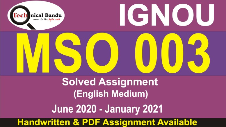ignou mso solved assignment 2020-21; ignou mso solved assignments free download; mso-004 solved assignment in hindi; ignou mso solved assignment 2019-20; ignou mso 01 solved assignment; mso 04 solved assignment; mso-2 solved assignment in hindi; mso 01 solved assignment 2019-20