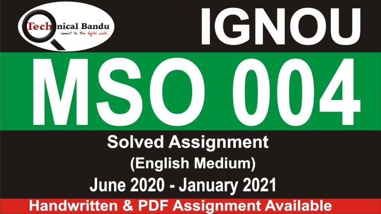 ignou mso solved assignments free download; ignou mso solved assignment 2019-20; ignou mso 01 solved assignment; mso solved assignment in hindi; mso-2 solved assignment in hindi; ignou sociology assignment 2020; mso 01 solved assignment 2019-20; ignou solved assignment 2020 ma sociology