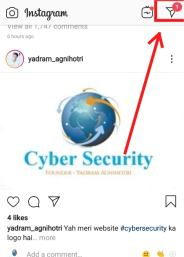 Read instagram message without seen