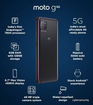 Moto G 5G Price and Specifications | Moto G 5G Launch