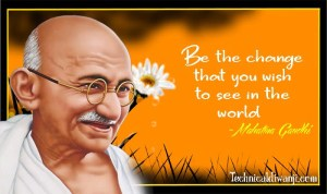 Gandhi Jayanti 2018 : Most Inspiring Gandhi Jayanti Quotes in English & Hindi