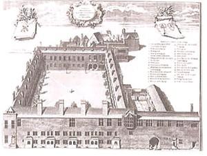 Gresham College 1740 (Engraving)