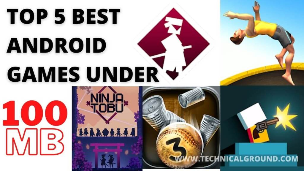 5 Best Android Games Under 100MB