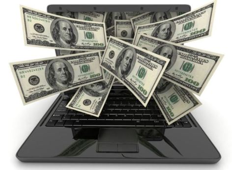 Online earning from computer