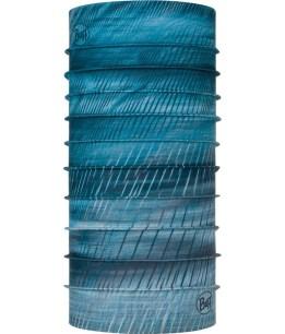 "Studio photo of the Coolnet UV+ BUFF® Design ""Keren Stone Blue"". Source: buff.eu"