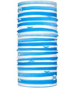 "Studio photo of the BUFF® Original Multifunctional Headwear Design ""Wave Blue"". Source: buff.eu"