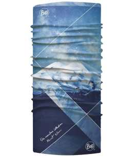 "Studio photo of the BUFF® Original Mountain Collection Design ""Mount Elbrus"". Source: buff.eu"