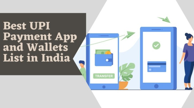 Best UPI Payment App and Wallets List in India (2021)